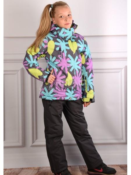Горнолыжный костюм детский Disumer для девочки №812-3