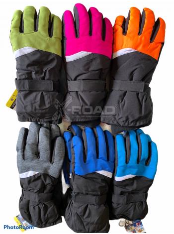 Перчатки горнолыжные женские Shluckyloong №3989