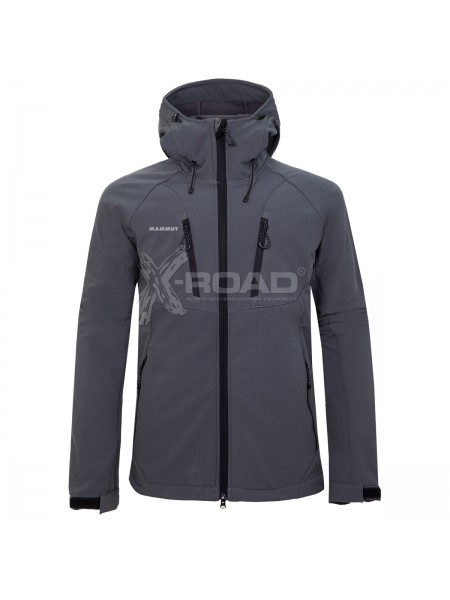 Куртка спортивная мужская Soft Shell Mammut №1830