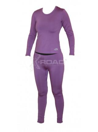 Термобелье женское The North Face, комплект (кофта + штаны)