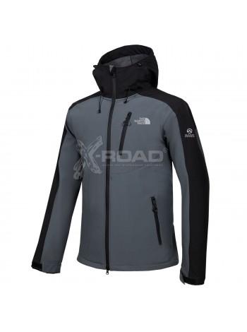 Куртка-ветровка спортивная мужская The North Face Soft Shell №1701-1