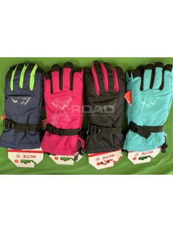 Перчатки для лыж и сноуборда женские ECHT SPORT № 007-1