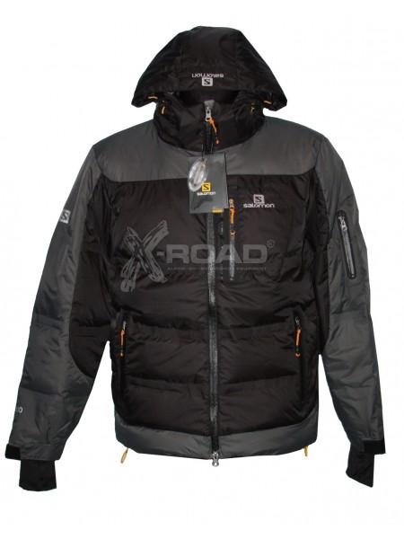 Куртка пуховка спортивная зимняя Salomon № 825