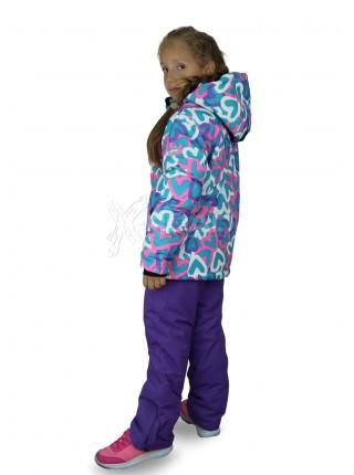 Детский горнолыжный костюм Disumer для девочки №814-1