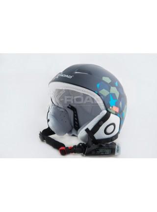 Шлем горнолыжный, для сноуборда X-Road №206