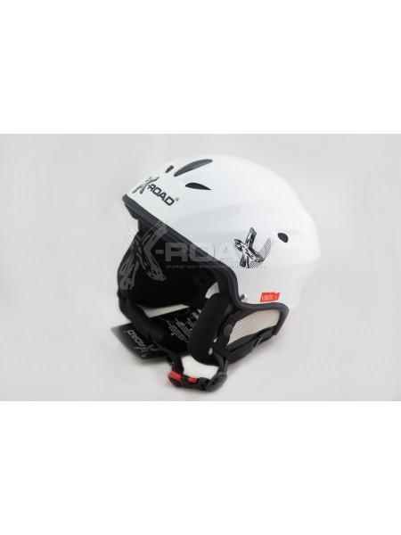 Шлем горнолыжный, для сноуборда X-Road 670 white