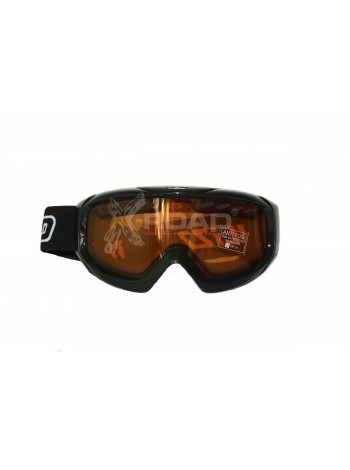 Маска Blizzard горнолыжная 906 DAV(black shiny-orange)