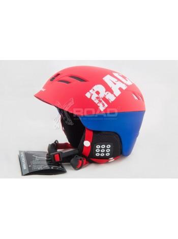 Шлем горнолыжный X-Road № 930-2 Red/Blue