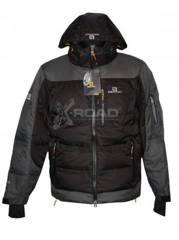 Куртка спортивная, зимняя Salomon, черный №825-1