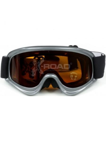 Очки-Маска горнолыжная с двойной линзой X-Road adrenalyn № 556