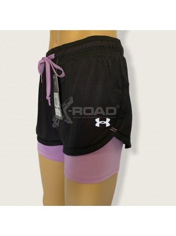 Спортивные шорты компрессионные женские № 7001