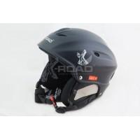Шлем горнолыжный X-Road 670 matt black