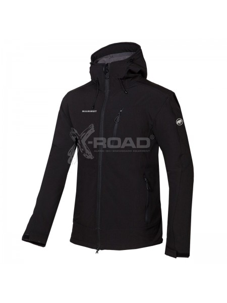 Куртка-ветровка спортивная мужская Mammut Soft Shell №1701