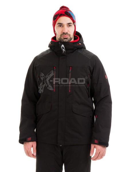 Куртка горнолыжная больших размеров WHS ROMA № 567031