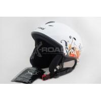 Шлем горнолыжный, для сноуборда X-Road 670 white+cp