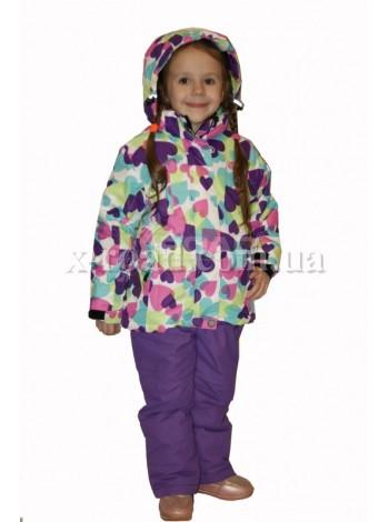 Горнолыжный костюм Disumer для девочки №839-1