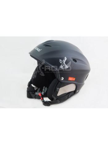 Шлем горнолыжный X-Road № 670 matt black