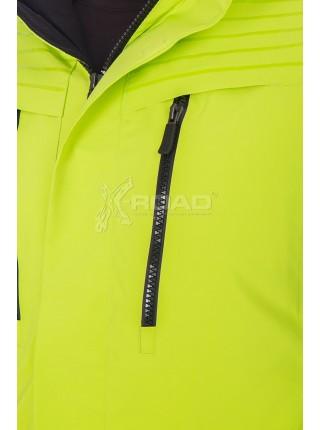 Куртка горнолыжная больших размеров WHS ROMA № 568069, салатовый