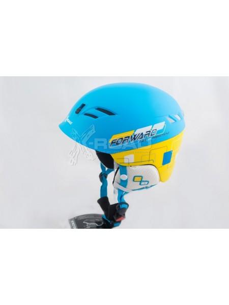 Шлем горнолыжный X-Road № 930-7 blue-yellow