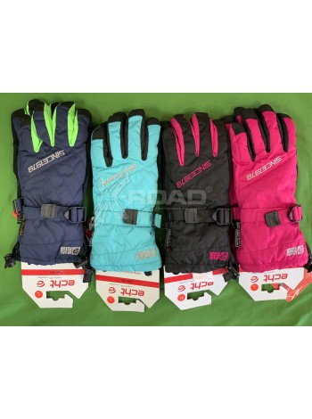 Перчатки для лыж и сноуборда женские ECHT SPORT № 005-1
