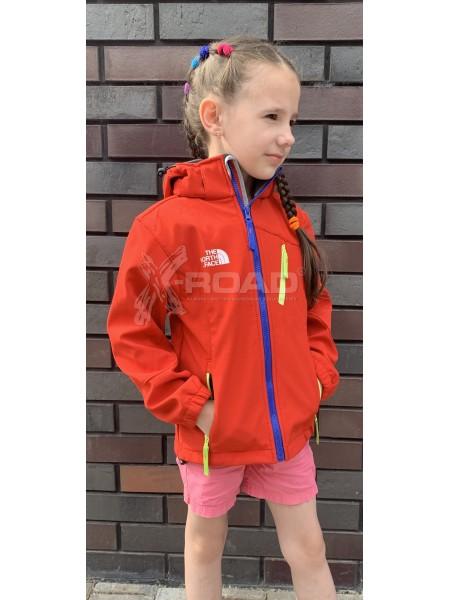 Куртка детская  софтшелл The North Face № 2017